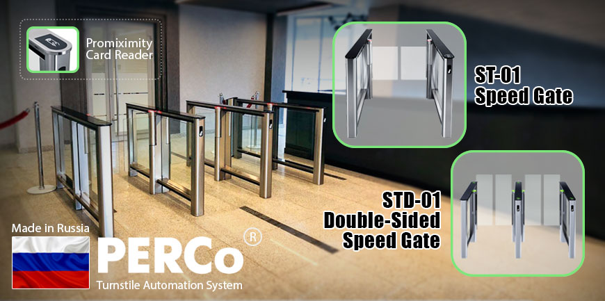 Turnstile ST-01 and STD-01 Speed Gate Perco